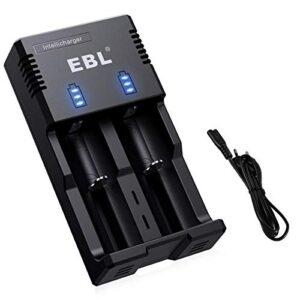 Cargador Baterias 18650 Ebl O Melhor Para Comprar Na Internet Facilmente