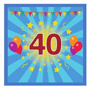 Libro De Visitas 40 Cumpleaños Opiniões E Comparação S Preço Aqui