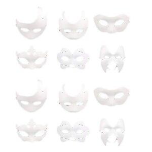 Máscaras Blancas Para Decorar O Melhor Para Comprar Na Internet Facilmente